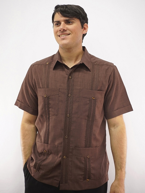 guayabera-2440-brown
