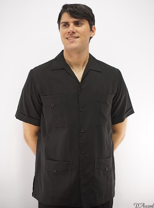 Mexican wedding shirt Cuban guayabera
