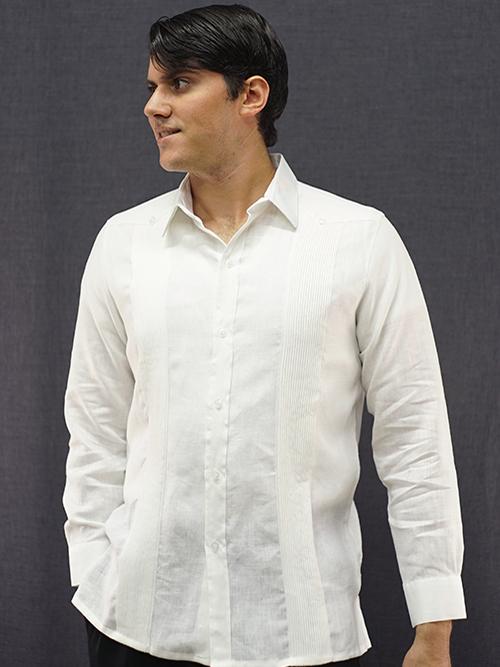 Mexican Wedding Shirt.Buy Destination Cuban Mexican Wedding Shirt Premium Linen D Accord 4476