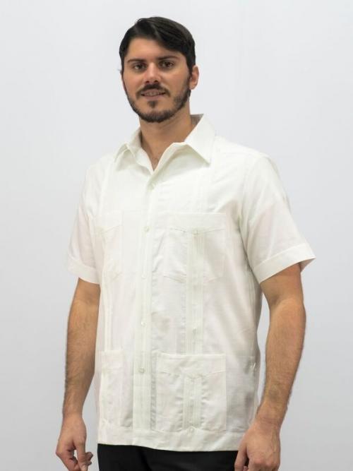 men's authentic Cuban guayabera shirt