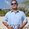 D'Accord blue Pima cotton guayabera
