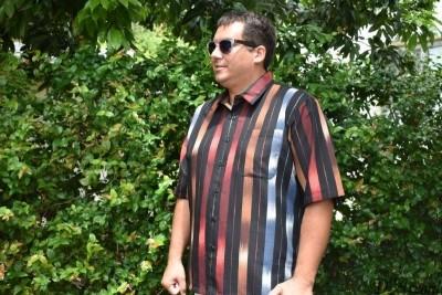 D'Accord striped casual shirt 5912