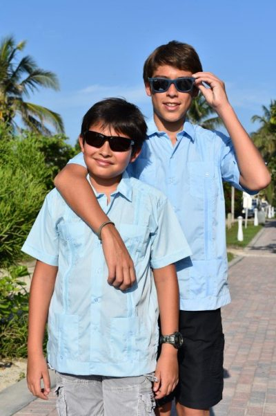 Baby KIDS BOYS CUBAN GUAYABERA SHIRTS