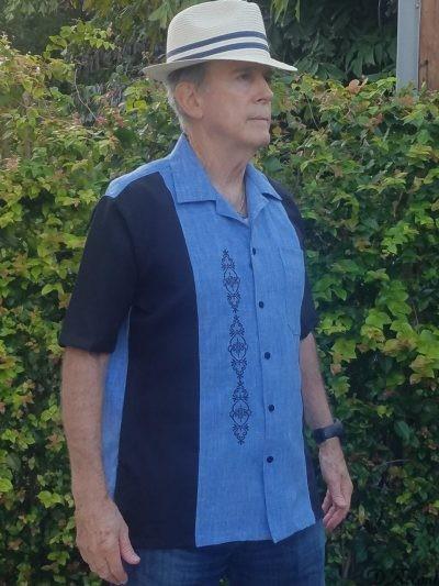 BUY CUBAN SHIRT CAMP COLLAR RETRO SHIRTS BOWLING SHIRTS MADE in USA