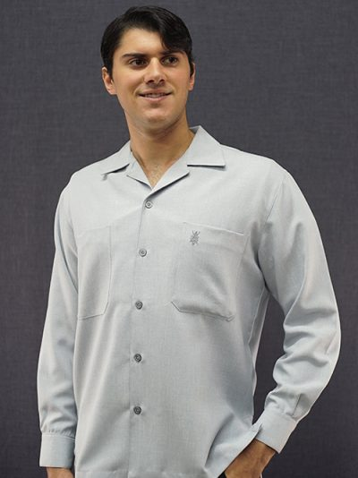 men's long sleeve two pocket shirt D'Accord 4270