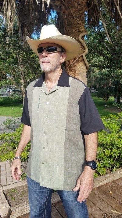 BUY CUBAN CAMP COLLAR RETRO SHIRTS BOWLING SHIRTS MADE in USA