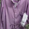 Men's 100% Piam Cotton Long sleeve Shirt Lavender D'Accord 4485