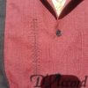 Cuban Retro Shirt Men's Casual Shirt Burgundy Embroidered Made in Miami USA D'Accord 5009